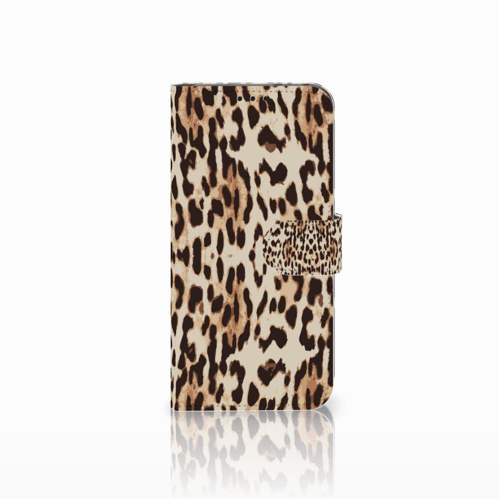 Honor View 20 Uniek Boekhoesje Leopard