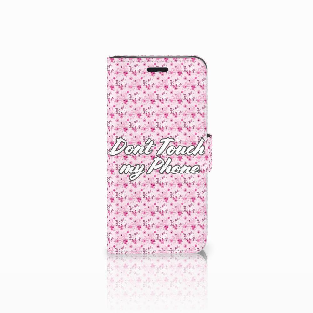Acer Liquid Z530 | Z530s Uniek Boekhoesje Flowers Pink DTMP