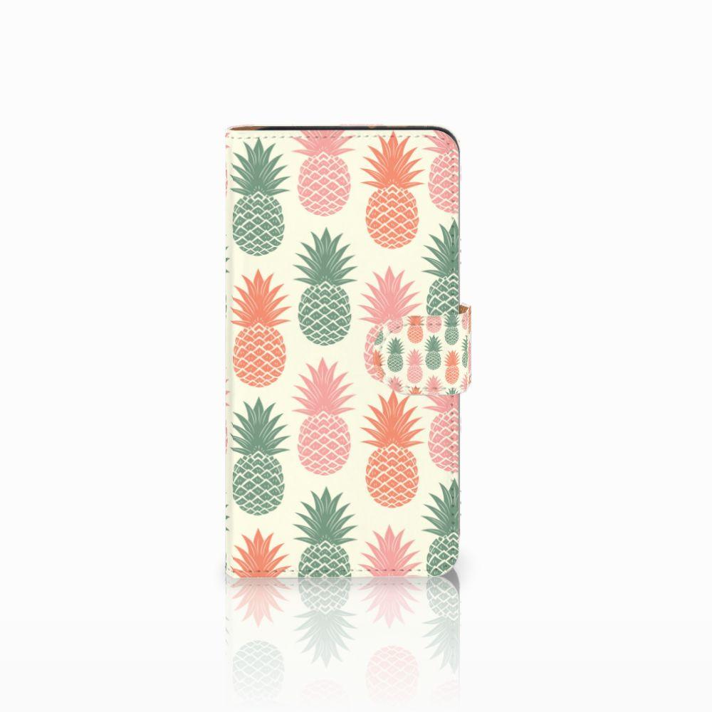 Wiko Lenny 3 Boekhoesje Design Ananas