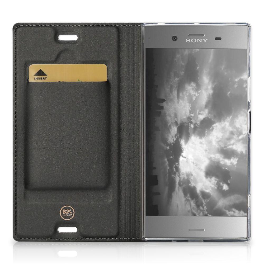 Sony Xperia XZ1 Book Wallet Case Steigerhout