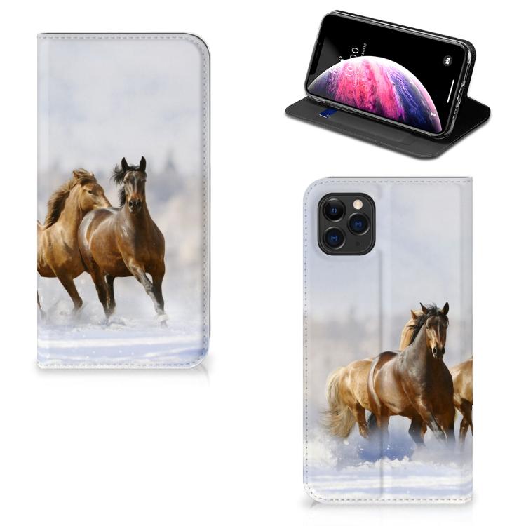 Apple iPhone 11 Pro Max Hoesje maken Paarden