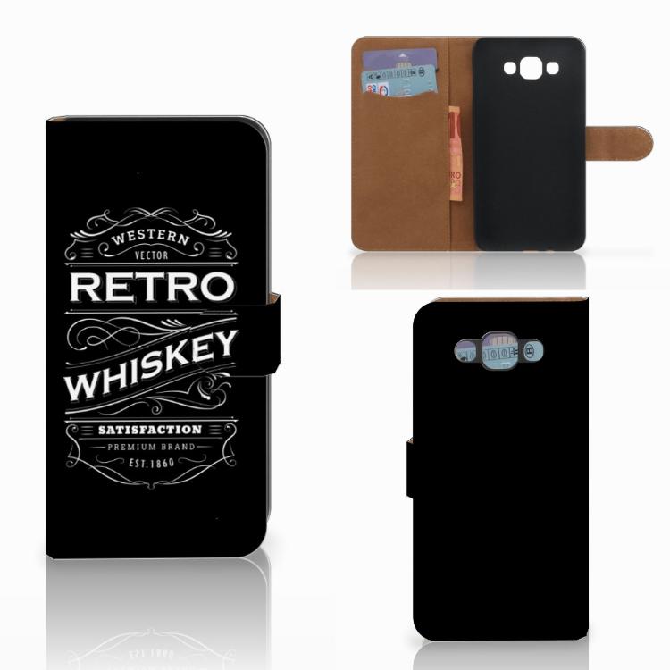 Samsung Galaxy E7 Book Cover Whiskey
