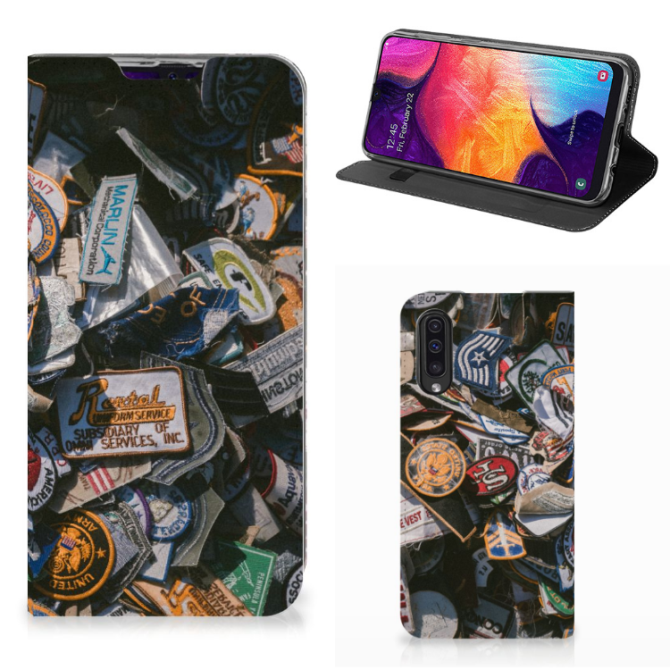 Samsung Galaxy A50 Stand Case Badges