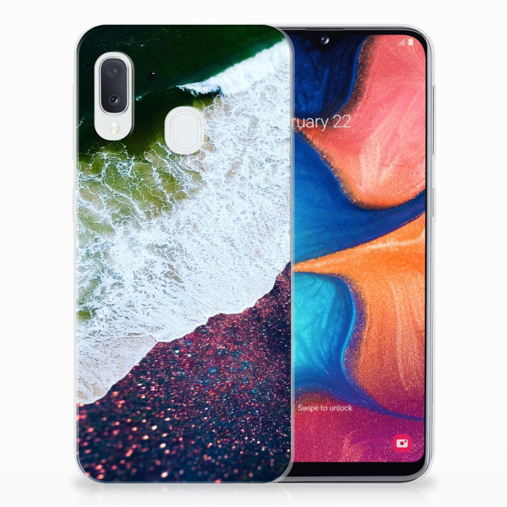 Samsung Galaxy A20e TPU Hoesje Sea in Space