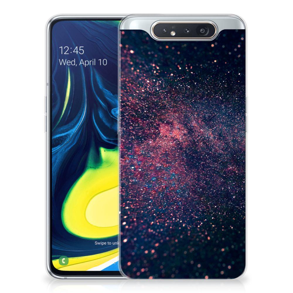Samsung Galaxy A80 TPU Hoesje Stars