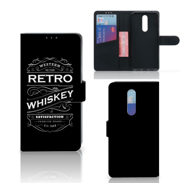 OnePlus 7 Pro Book Cover Whiskey