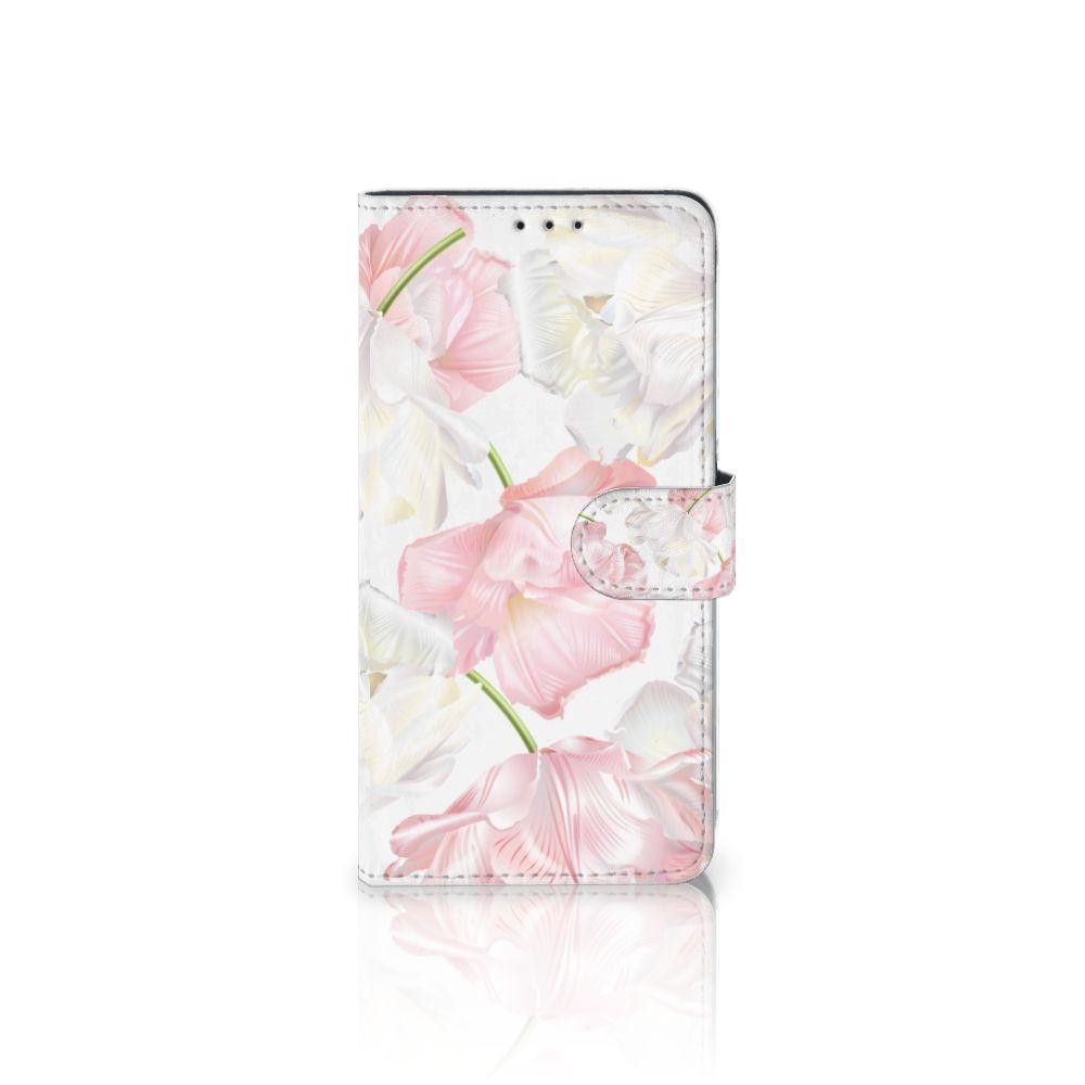 Samsung Galaxy A8 Plus (2018) Hoesje Lovely Flowers