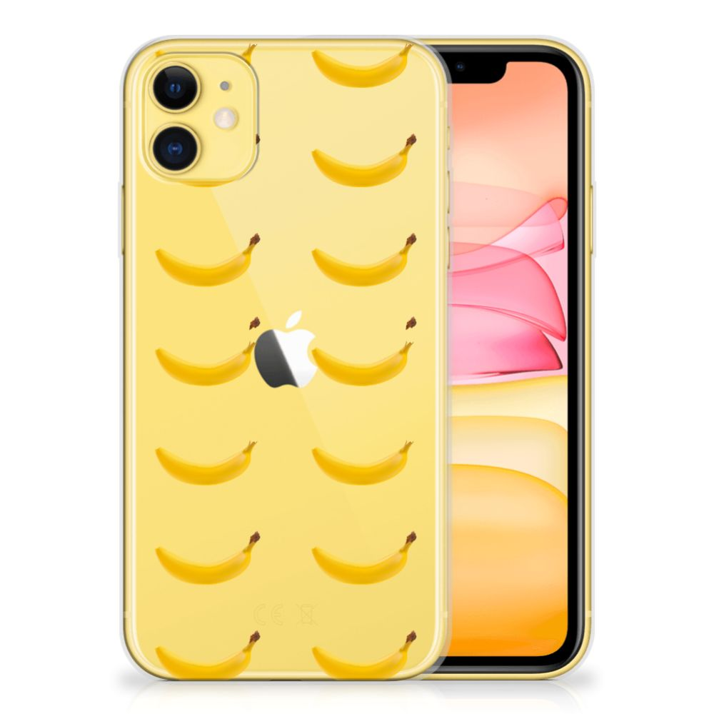 Apple iPhone 11 Siliconen Case Banana