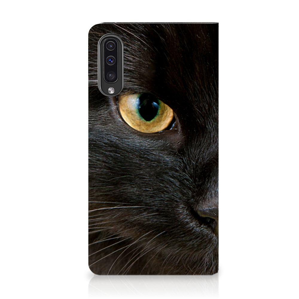 Samsung Galaxy A50 Hoesje maken Zwarte Kat