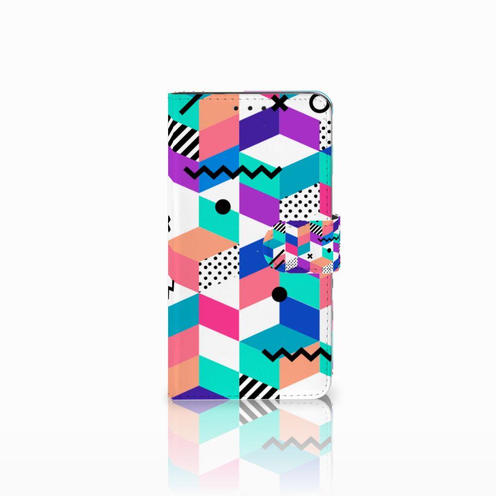 Huawei Honor 6X Bookcase Blokken Kleurrijk