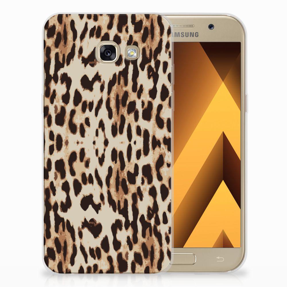 Samsung Galaxy A5 2017 Uniek TPU Hoesje Leopard