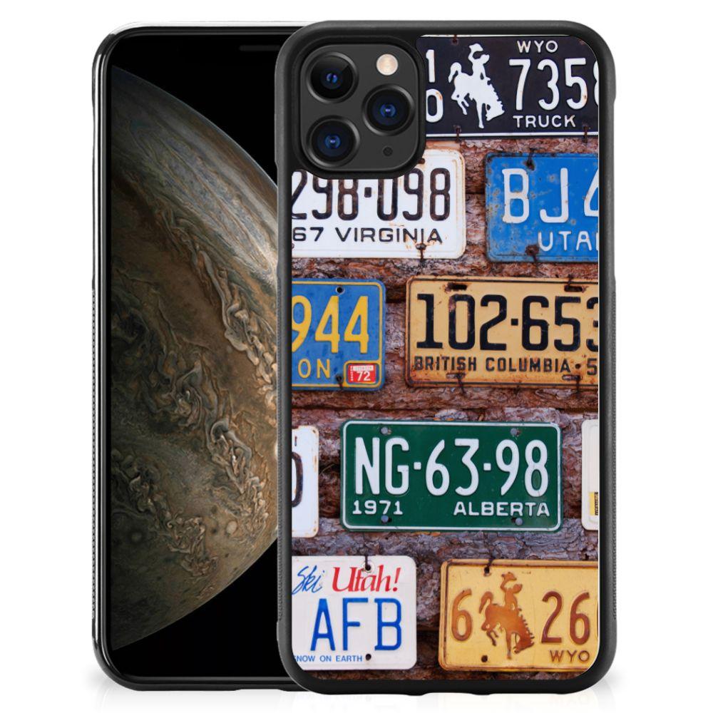 Apple iPhone 11 Pro Grip Case Kentekenplaten