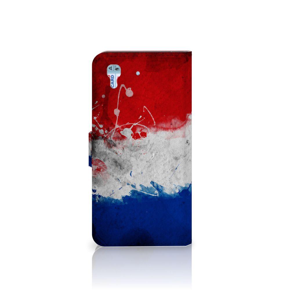 Honor 4A | Y6 Bookstyle Case Nederlandse Vlag
