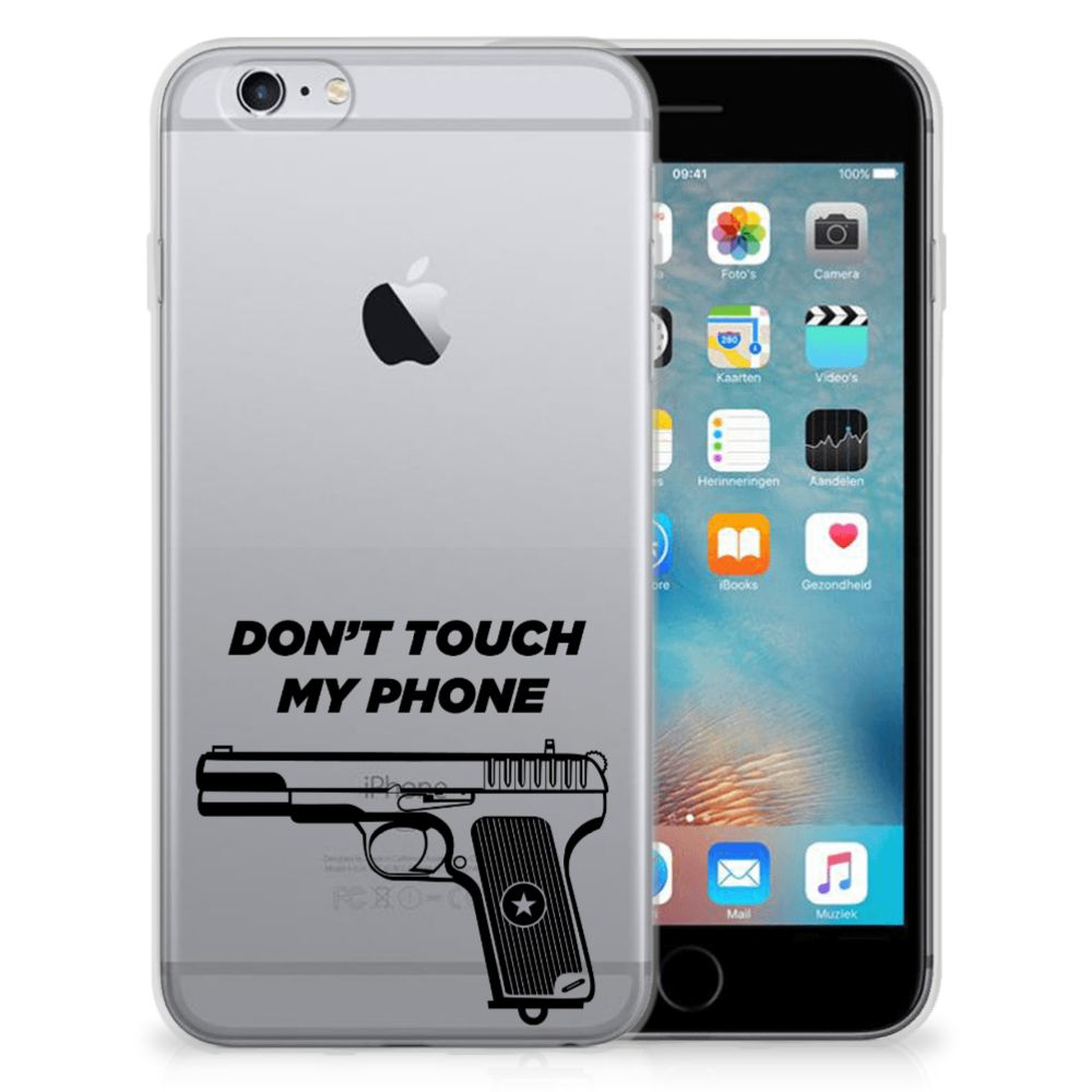 Apple iPhone 6 | 6s Silicone-hoesje Pistol DTMP