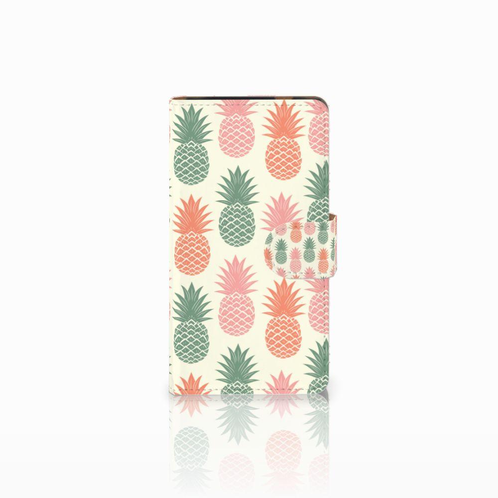 HTC Desire 601 Boekhoesje Design Ananas