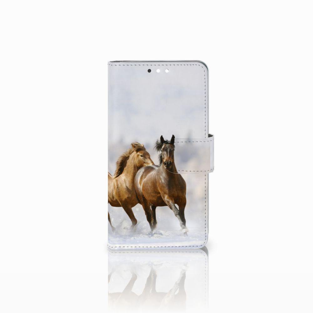 Nokia 8 Sirocco | Nokia 9 Uniek Boekhoesje Paarden