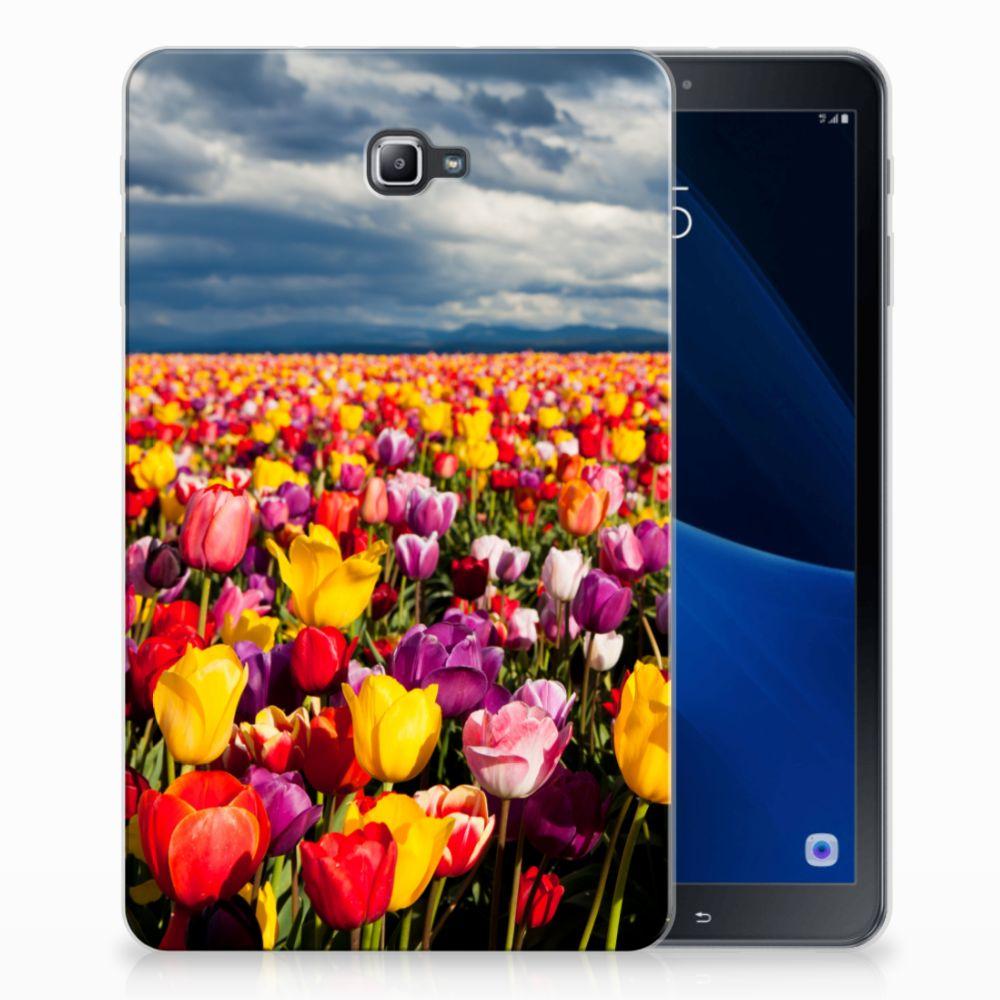 Samsung Galaxy Tab A 10.1 Uniek Tablethoesje Tulpen