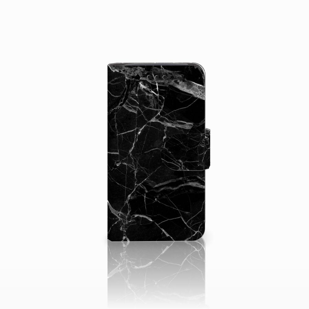 Samsung Galaxy Core i8260 Uniek Boekhoesje Marmer Zwart