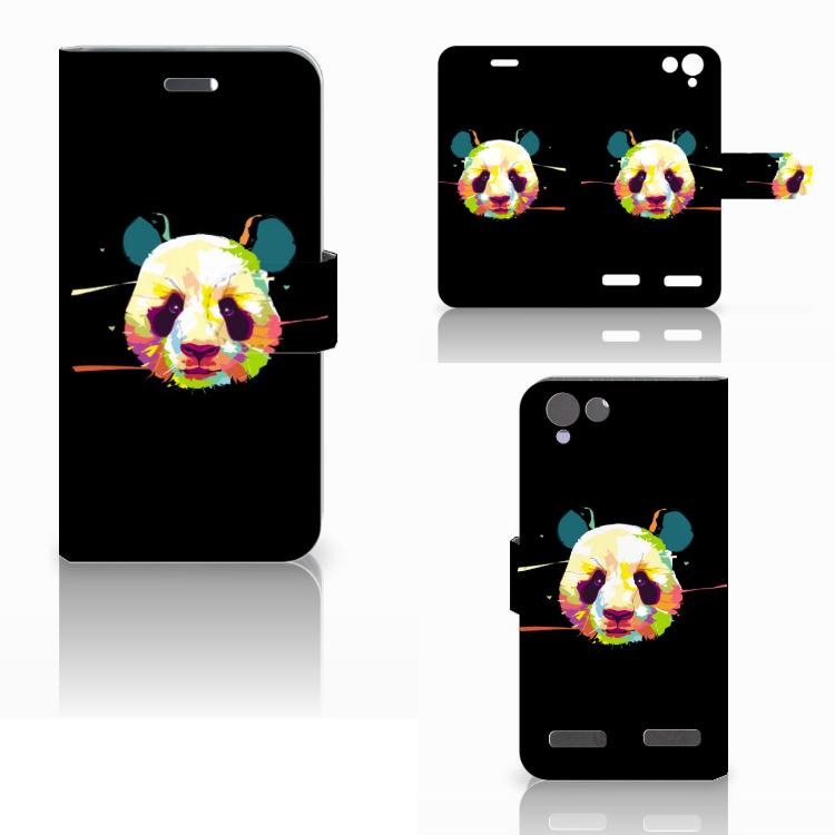 Lenovo Vibe K5 Leuke Hoesje Panda Color