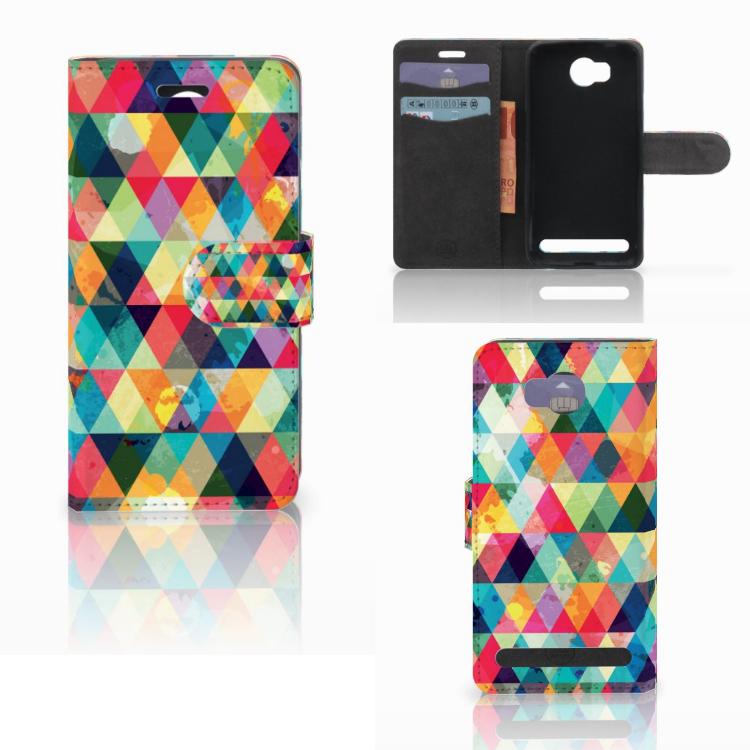 Huawei Y3 2 | Y3 II Telefoon Hoesje Geruit