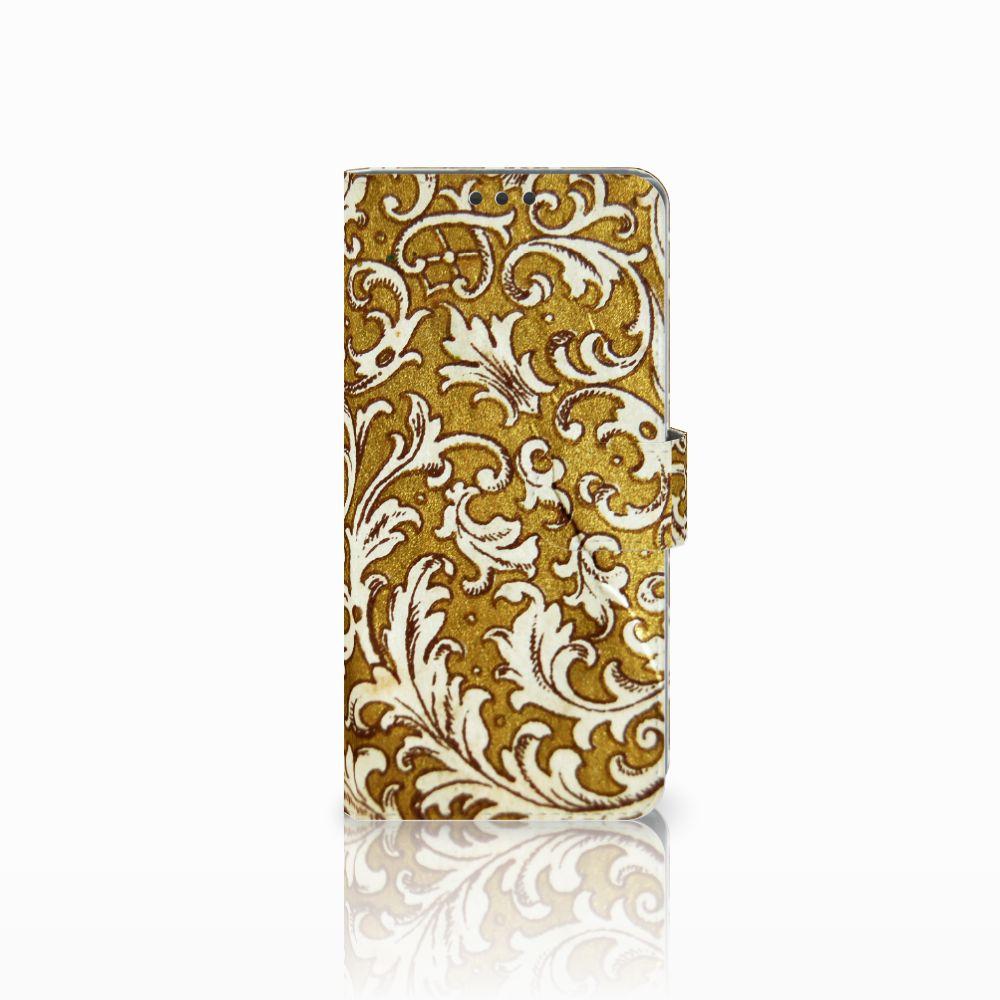 Sony Xperia Z5 Premium Boekhoesje Design Barok Goud