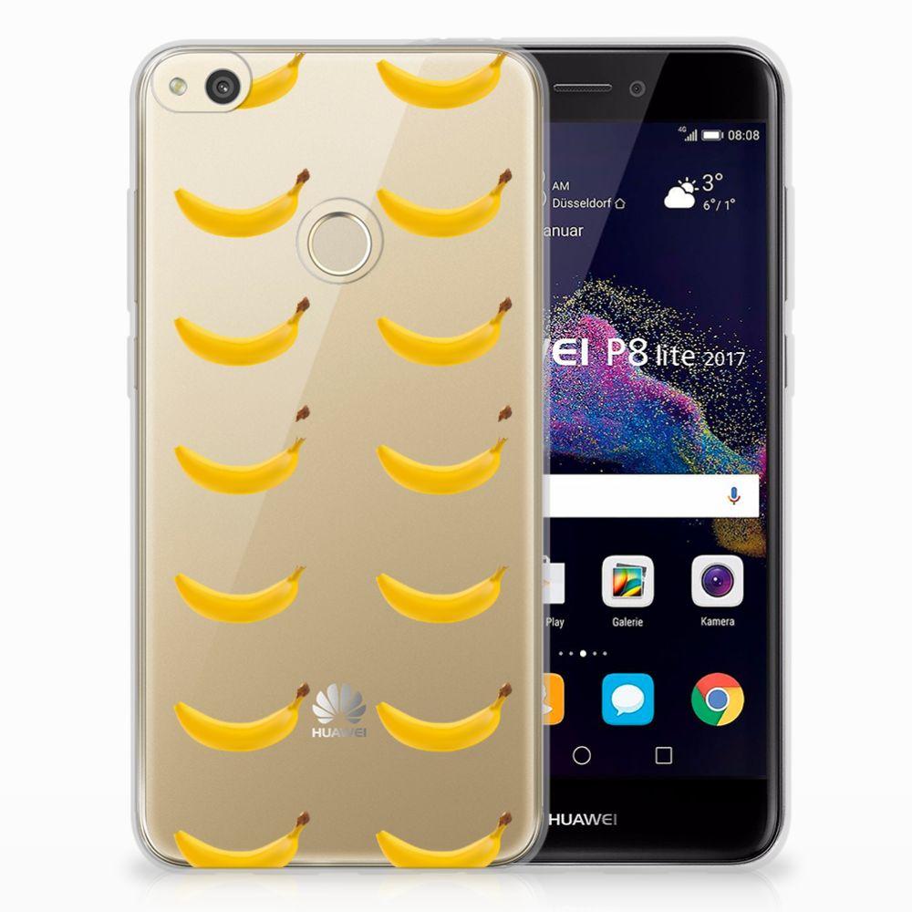 Huawei P8 Lite 2017 Uniek TPU Hoesje Banana