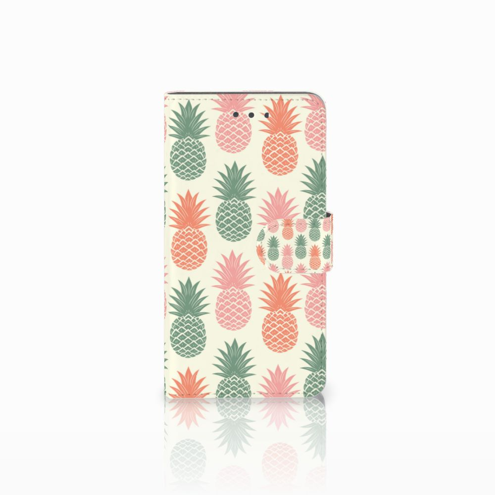 Wiko Fever (4G) Boekhoesje Design Ananas