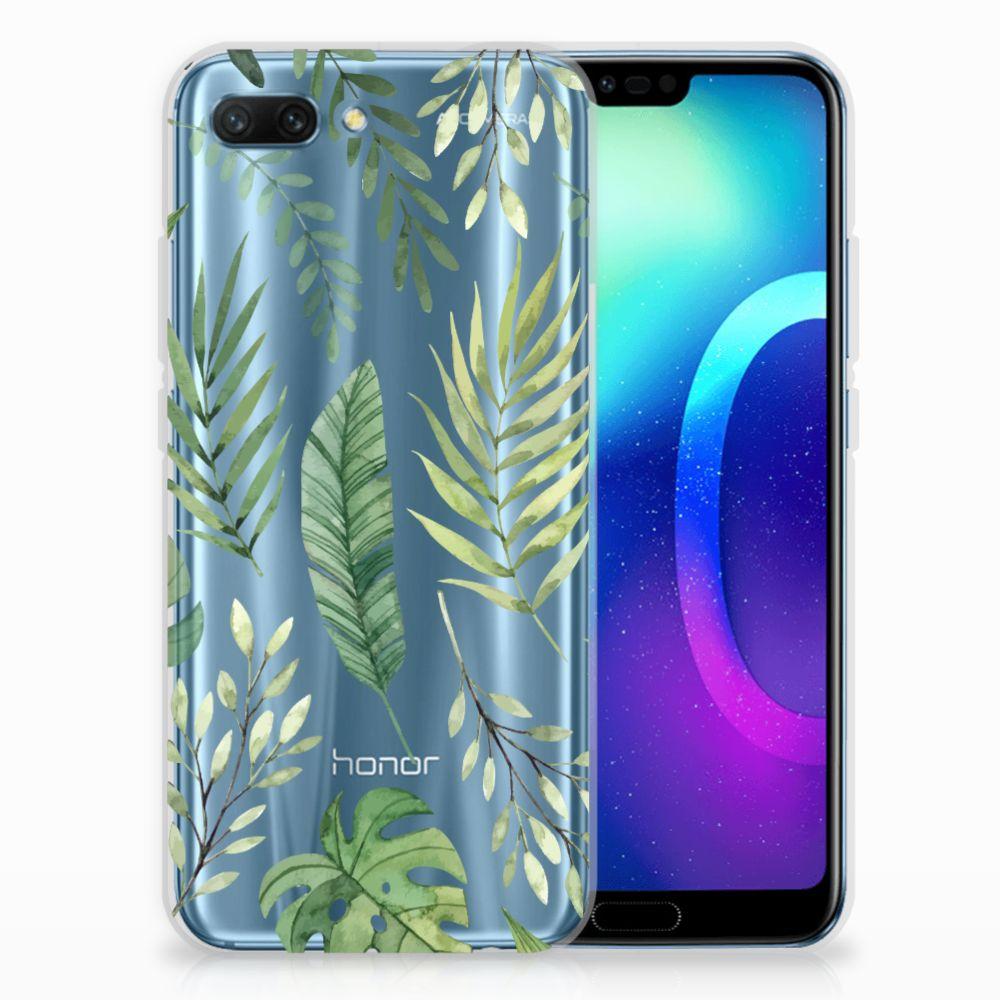 Huawei Honor 10 TPU Case Leaves