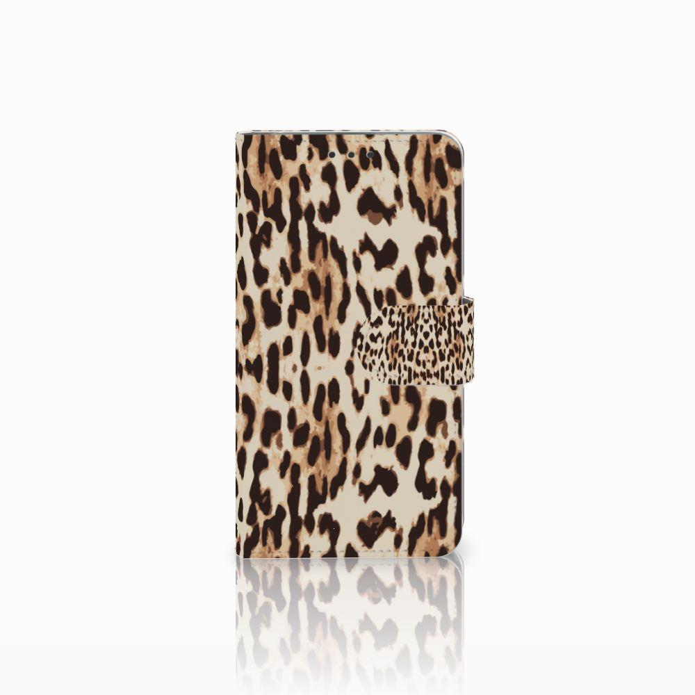 Microsoft Lumia 640 Uniek Boekhoesje Leopard