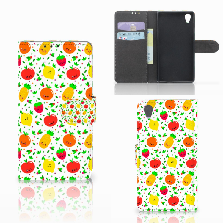 Sony Xperia Z1 Book Cover Fruits