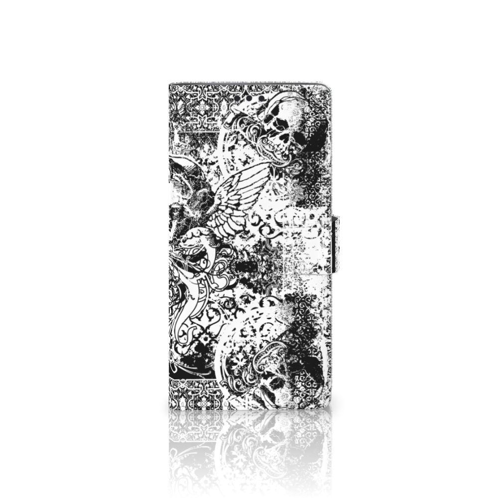 Sony Xperia XA Ultra Boekhoesje Design Skulls Angel