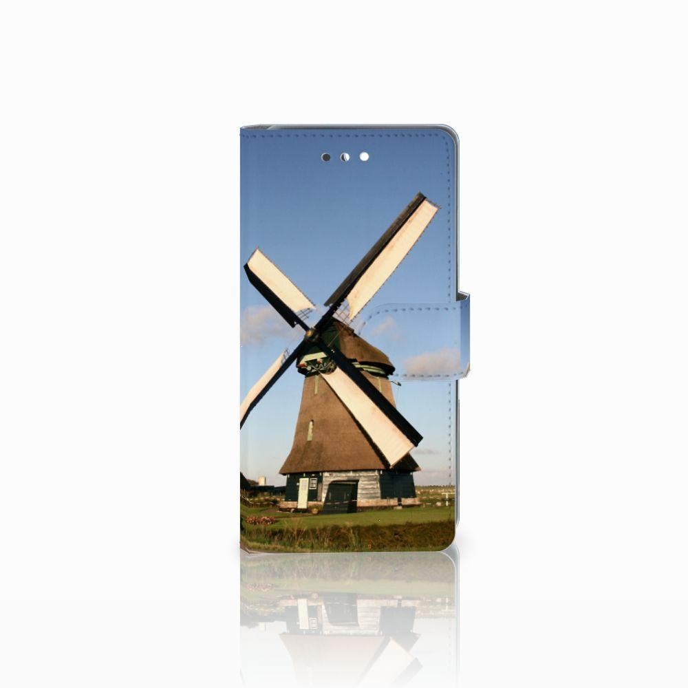 Huawei P10 Uniek Boekhoesje Molen