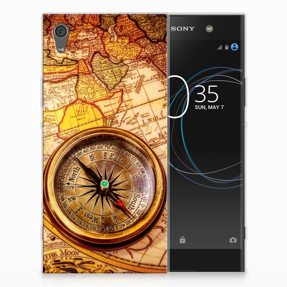 Sony Xperia XA1 Ultra Siliconen Back Cover Kompas