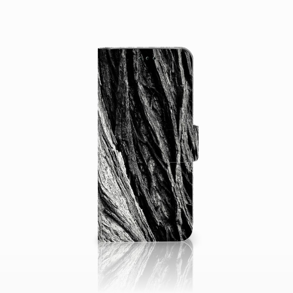 Book Style Case Samsung Galaxy J6 2018 Boomschors Grijs