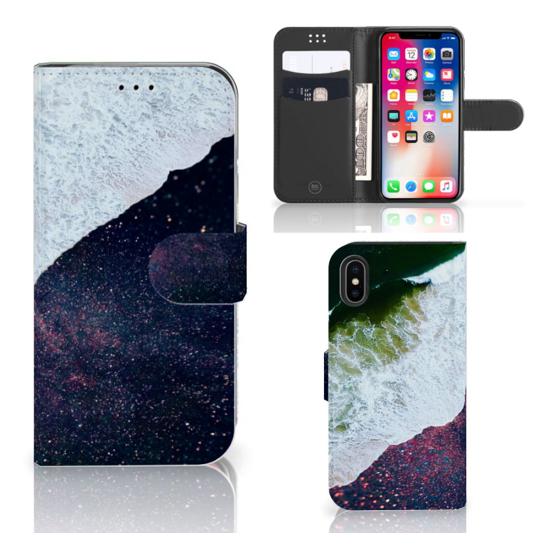 Apple iPhone X | Xs Bookcase Sea in Space