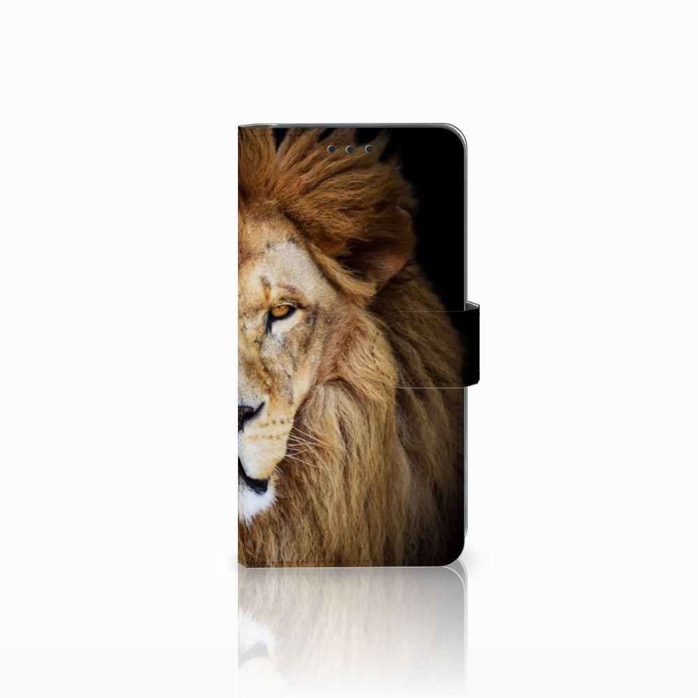 Samsung Galaxy A8 2018 Boekhoesje Design Leeuw
