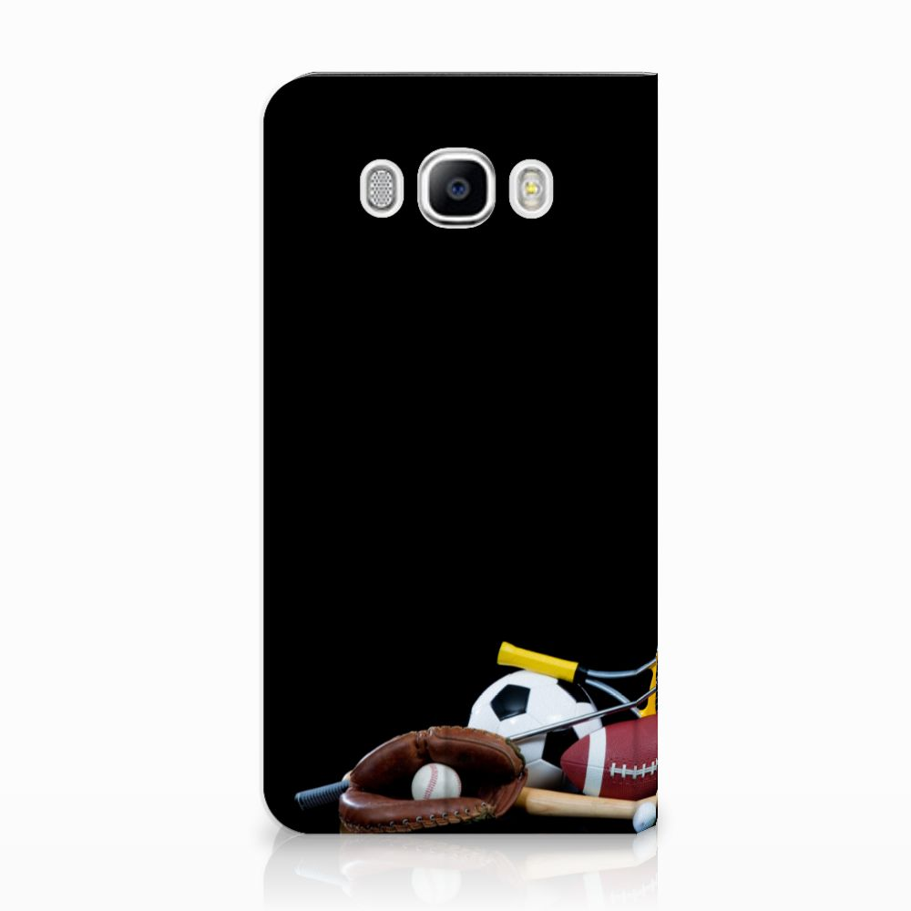 Samsung Galaxy J7 2016 Standcase Hoesje Design Sports