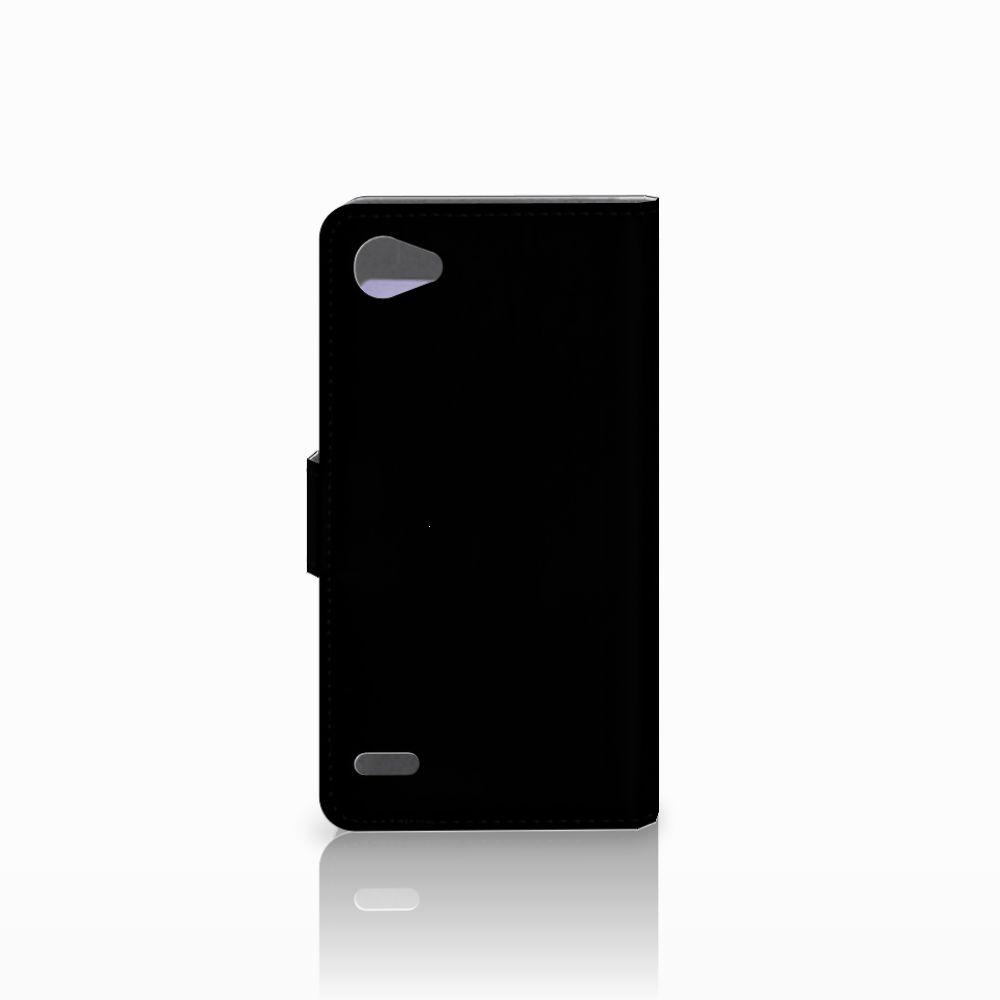 LG Q6 | LG Q6 Plus Book Cover Whiskey