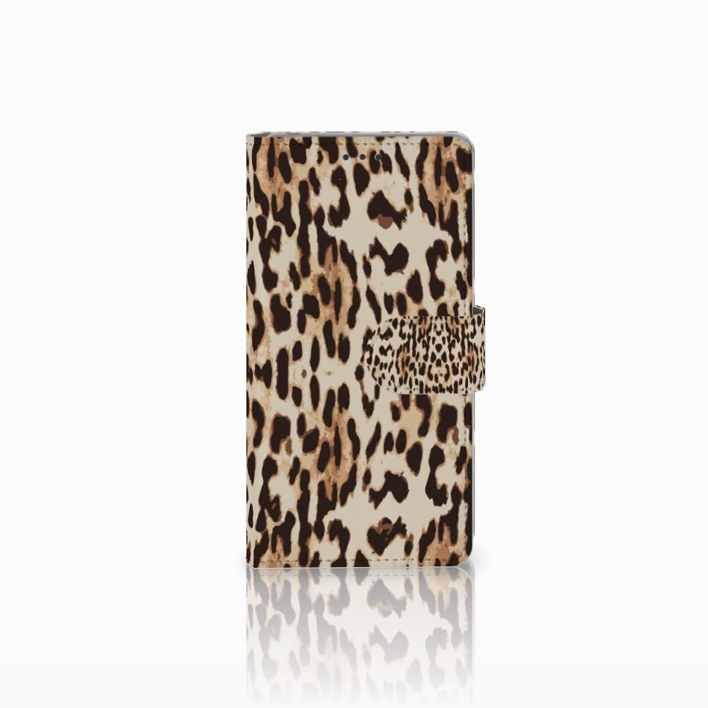 Sony Xperia Z Uniek Boekhoesje Leopard