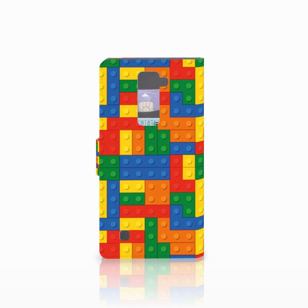 LG K10 2015 Telefoon Hoesje Blokken