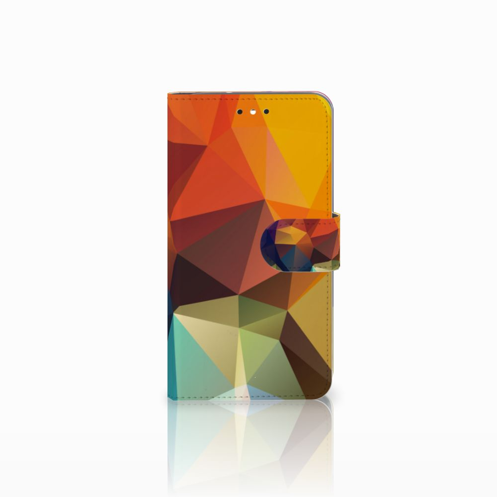 Motorola Moto G4 | G4 Plus Boekhoesje Design Polygon Color
