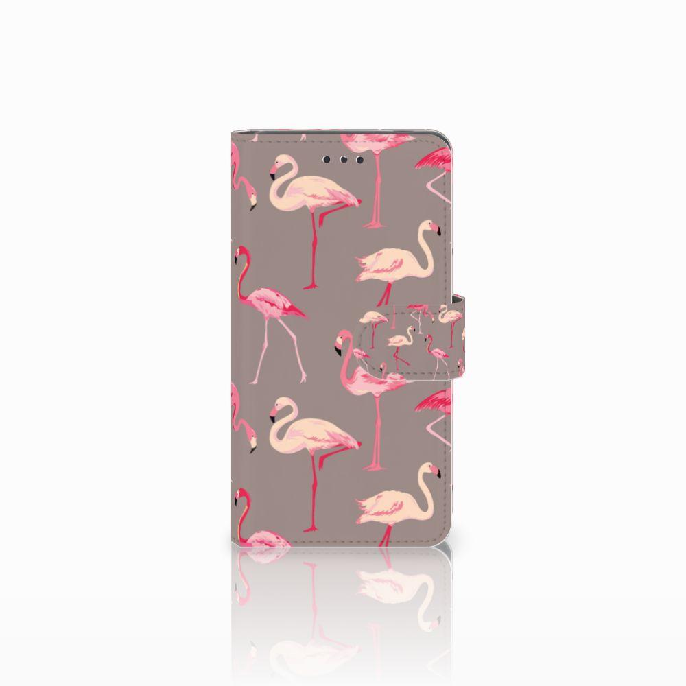 Nokia 7 Uniek Boekhoesje Flamingo