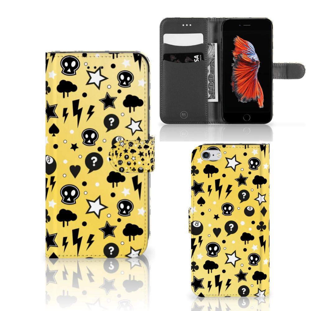 Telefoonhoesje met Naam Apple iPhone 6 Plus | 6s Plus Punk Geel