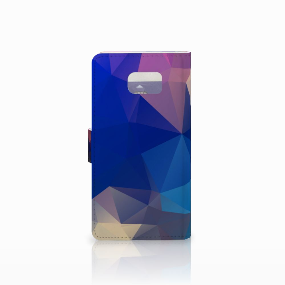Samsung Galaxy Note 5 Bookcase Polygon Dark