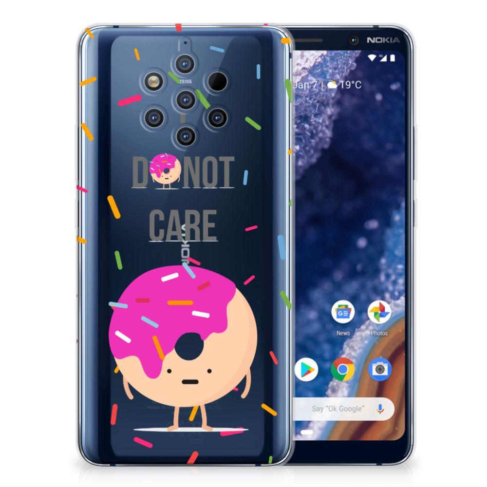 Nokia 9 PureView Siliconen Case Donut Roze