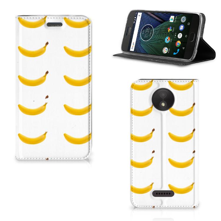Motorola Moto C Plus Flip Style Cover Banana