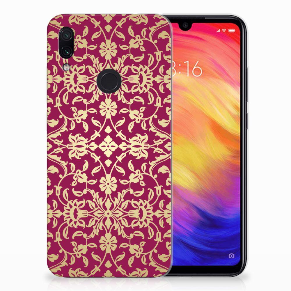 Siliconen Hoesje Xiaomi Redmi Note 7 Barok Pink