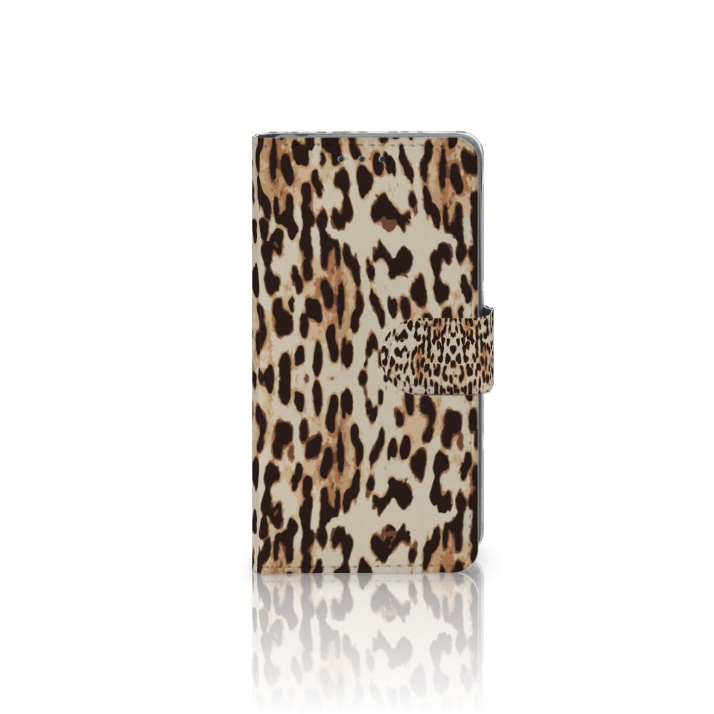 Sony Xperia Z2 Uniek Boekhoesje Leopard