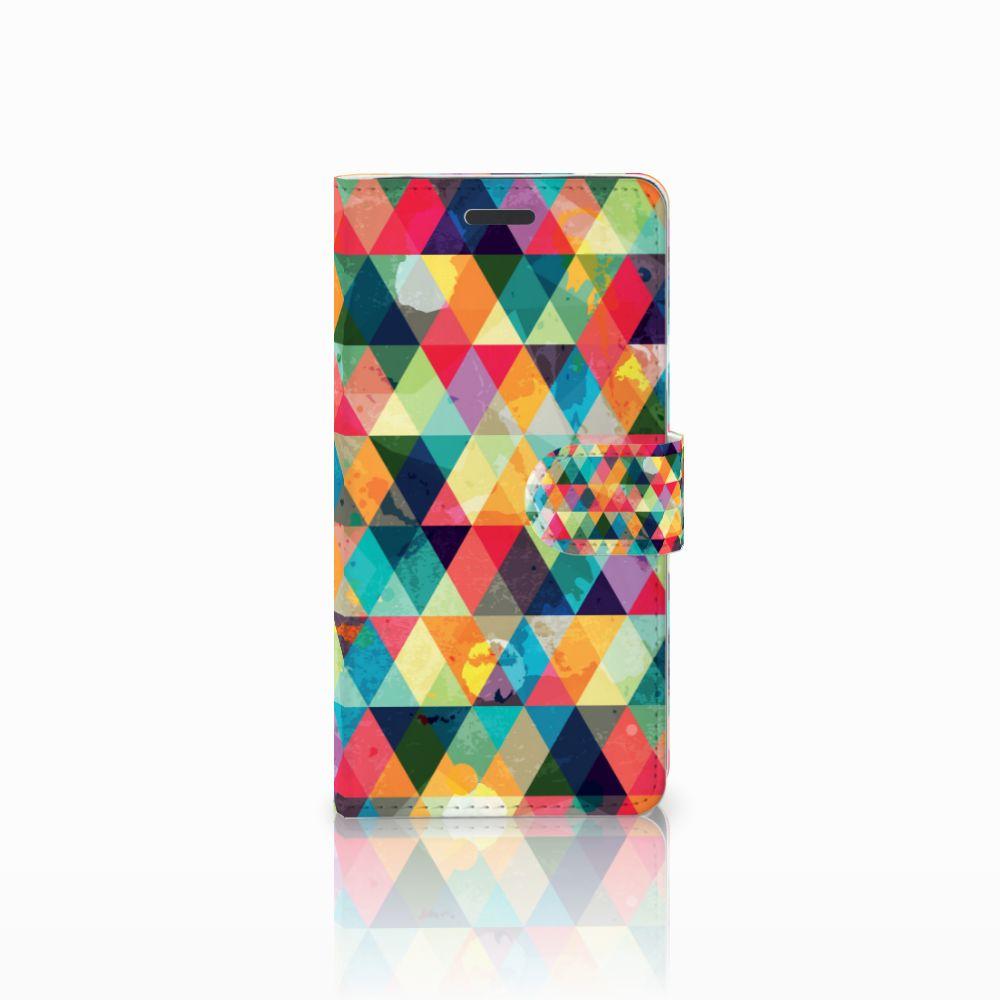 Samsung Galaxy Note 5 Uniek Boekhoesje Geruit