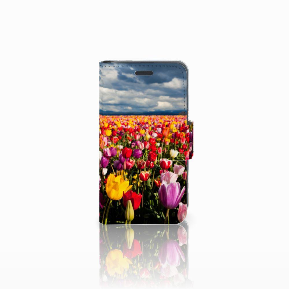 Nokia Lumia 520 Uniek Boekhoesje Tulpen